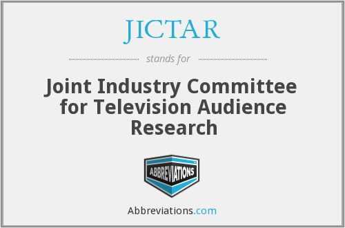 JICTAR - Joint Industry Committee for Television Audience Research