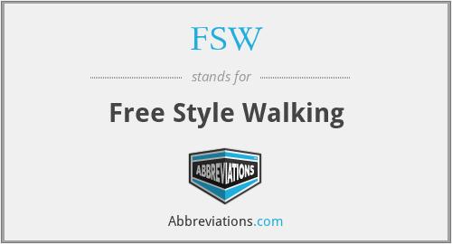 FSW - Free Style Walking