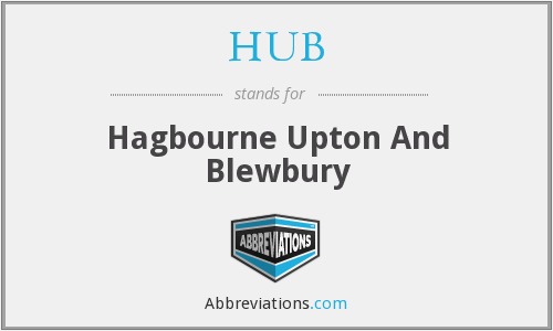 HUB - Hagbourne Upton And Blewbury