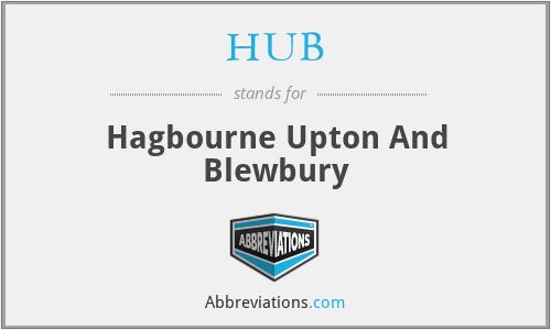 HUB - Hagbourne Upton And Blewbury