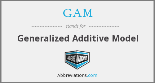 GAM - Generalized Additive Model