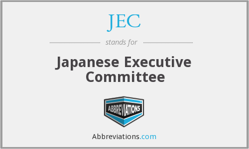 JEC - Japanese Executive Committee