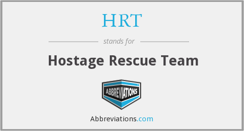 HRT - Hostage Rescue Team