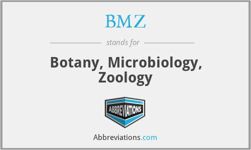 BMZ - Botany, Microbiology, Zoology