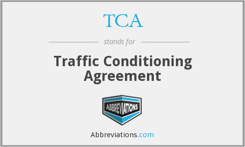 TCA - Traffic Conditioning Agreement
