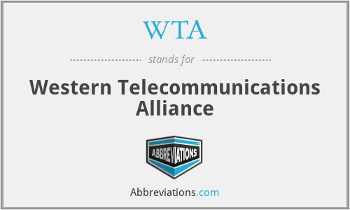 WTA - Western Telecommunications Alliance