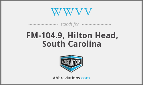 WWVV - FM-104.9, Hilton Head, South Carolina