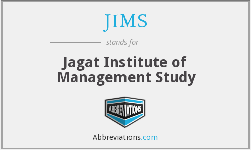 JIMS - Jagat Institute of Management Study