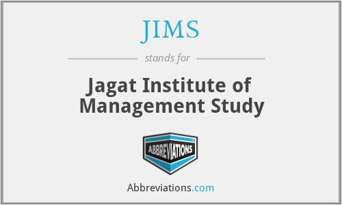 JIMS - Jagat Institute of Management Study