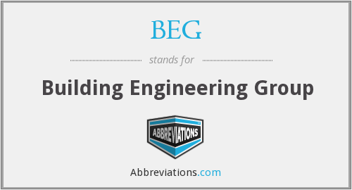 BEG - Building Engineering Group
