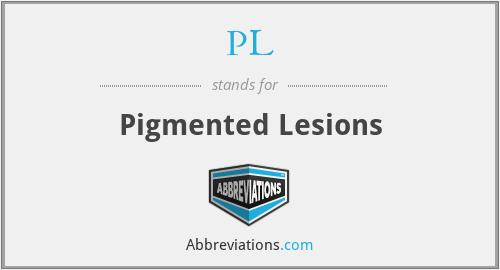 PL - Pigmented Lesions