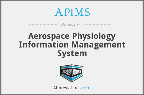 APIMS - Aerospace Physiology Information Management System