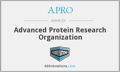 What does APRO stand for?