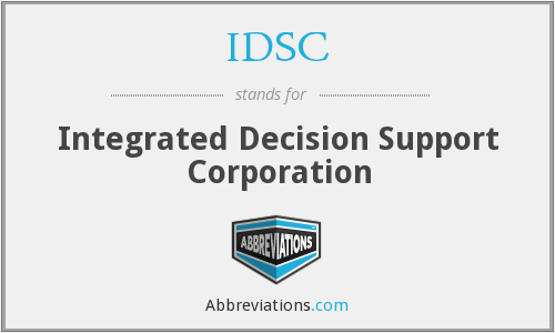 What does IDSC stand for?
