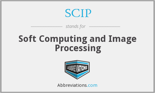 SCIP - Soft Computing and Image Processing