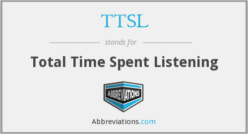 What does TTSL stand for?