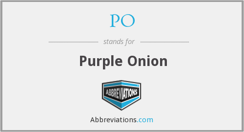 PO - Purple Onion