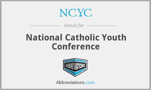 conference youth National catholic