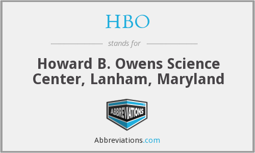 HBO - Howard B. Owens Science Center, Lanham, Maryland