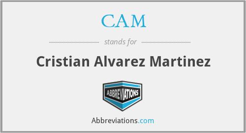 CAM - Cristian Alvarez Martinez