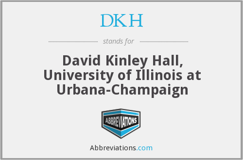 What does DKH stand for?
