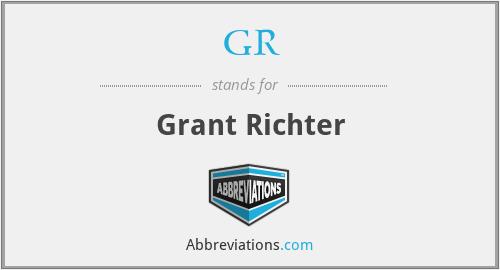 GR - Grant Richter