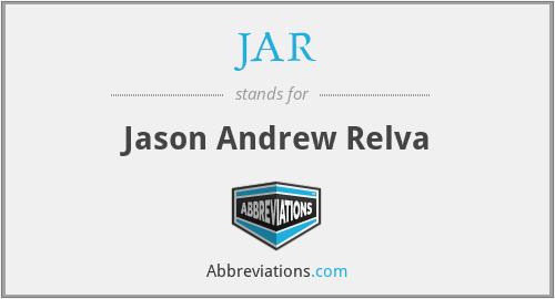JAR - Jason Andrew Relva
