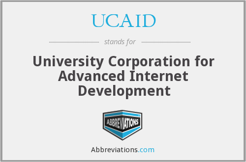 What does UCAID stand for?