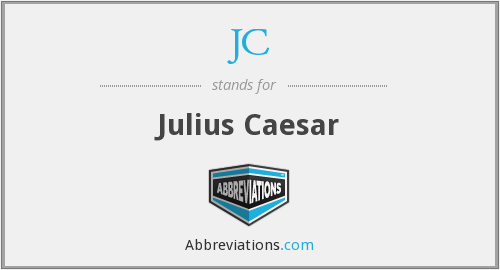 What does cæsar, caius julius stand for?