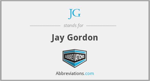 JG - Jay Gordon