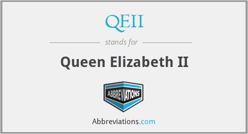 QEII - Queen Elizabeth II