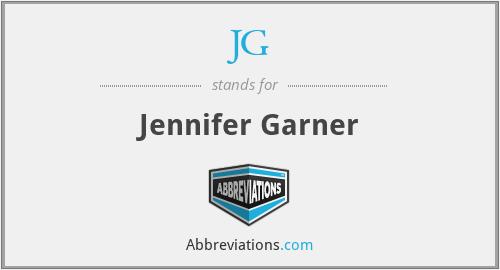 JG - Jennifer Garner