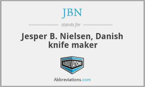 JBN - Jesper B. Nielsen, Danish knife maker