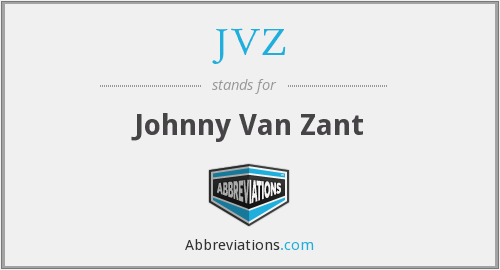 JVZ - Johnny Van Zant
