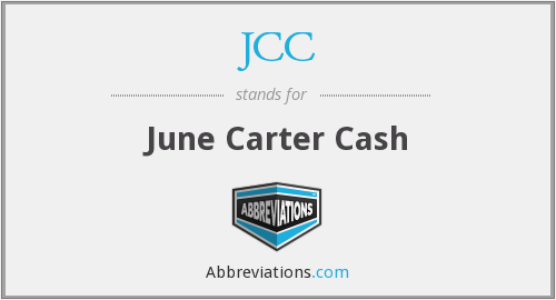 JCC - June Carter Cash