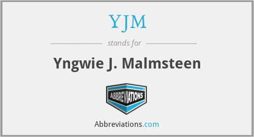 YJM - Yngwie J. Malmsteen