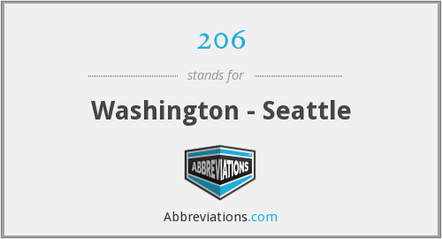 206 - Washington - Seattle