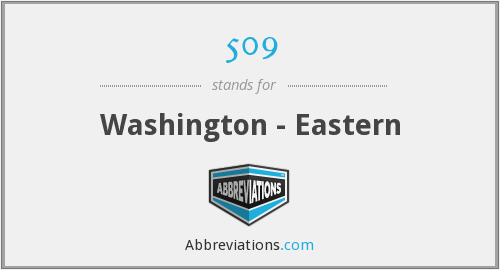 509 - Washington - Eastern