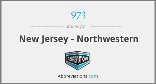 973 - New Jersey - Northwestern