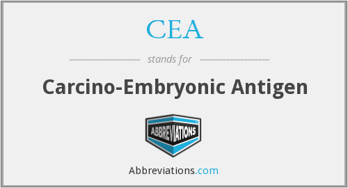 CEA - Carcino-Embryonic Antigen