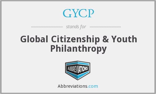 GYCP - Global Citizenship & Youth Philanthropy
