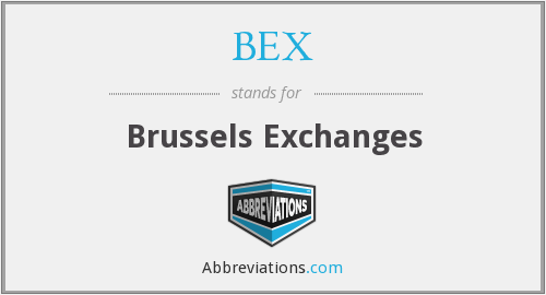 BEX - Brussels Exchanges
