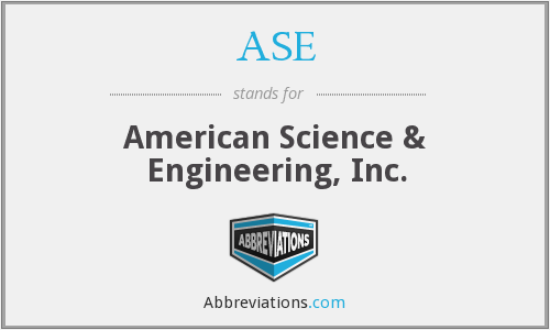 What does ASE stand for?