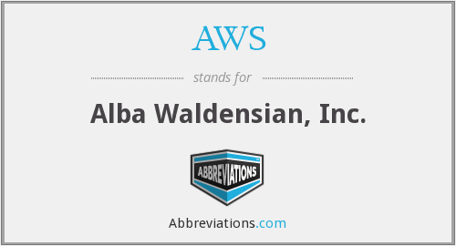 AWS - Alba Waldensian, Inc.