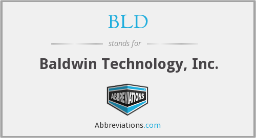 BLD - Baldwin Technology, Inc.