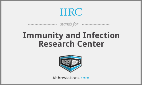 IIRC - Immunity And Infection Research Centre