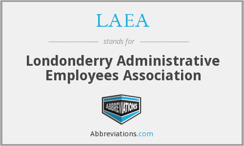 LAEA - Londonderry Administrative Employees Association