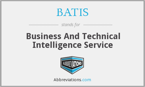 What does BATIS stand for?