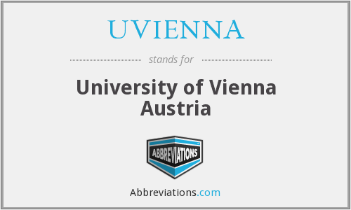 What does UVIENNA stand for?
