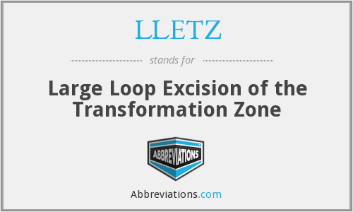 LLETZ - Large Loop Excision of the Transformation Zone
